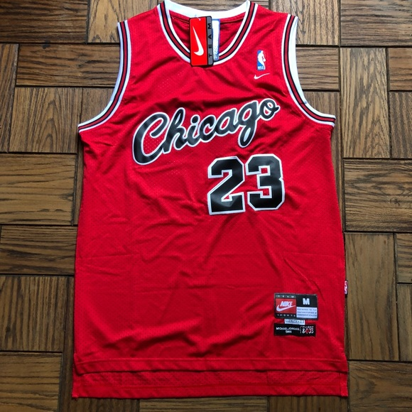 new arrival f045d af79c NWT Jordan Chicago Bulls Flight 1984 Jersey Nike NWT